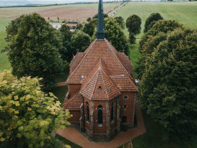 Fotograf für Luftbilder mit Drohne