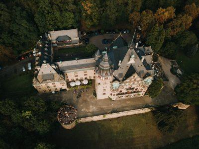 Luftbilder Schloßhotel Wolfsbrunnen